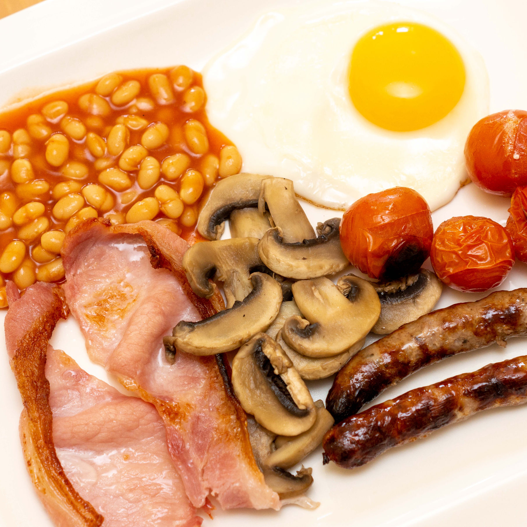 The Bay Full English Breakfast