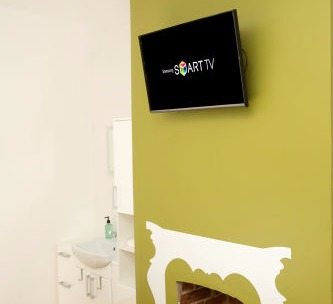 Room 2 - TV and basin